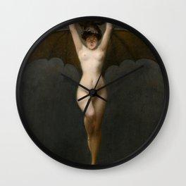 The Bat Woman Albert Joseph Pénot Wall Clock