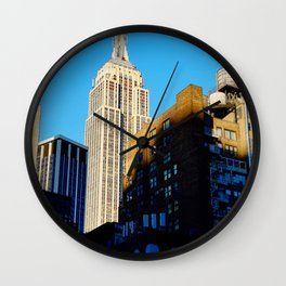 Empire State of Mind Wall Clock