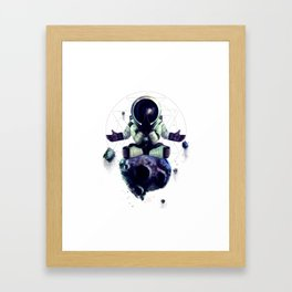 Moon Rock Framed Art Print