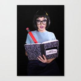 Erotic Friend Fiction Canvas Print