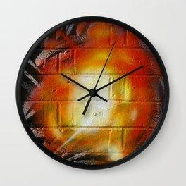 Explosion  Wall Clock