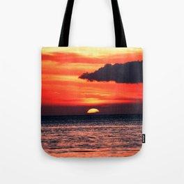 Big Island Hawaii Sunset Tote Bag