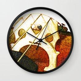 Just a Cello Bridge Wall Clock