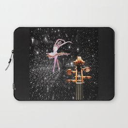 Violin and Ballet Dancer number 1 Laptop Sleeve