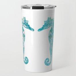 Sea horses Travel Mug