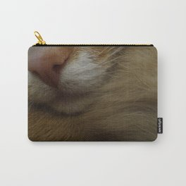 Mr. McFluff the ginger cat Carry-All Pouch