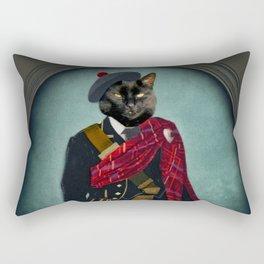 Boris the Bruce, Mouser-in-Chief Rectangular Pillow