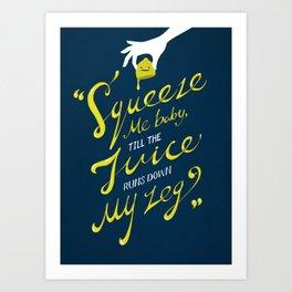 The Lemon Song Art Print