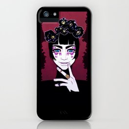 Black Hellebore iPhone Case