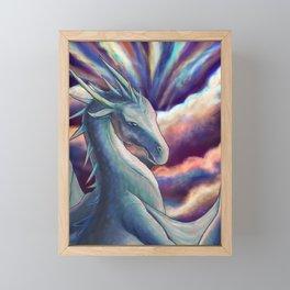 Cloud Dragon Framed Mini Art Print
