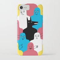wolf iPhone & iPod Cases featuring A Wolf by Jack Teagle