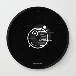 Deathstar - Thats No Moon Wall Clock