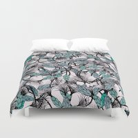africa Duvet Covers featuring AFRICA by Maria Pagola