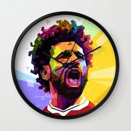 Mohamed Salah WPAP #2 Wall Clock