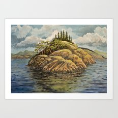 The Point Art Print