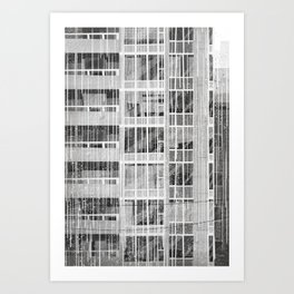 Places I've Lived Series - 3 Art Print