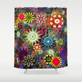 Psychedelic 60s, Awaken The Mind Shower Curtain