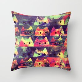 cats-323 Throw Pillow