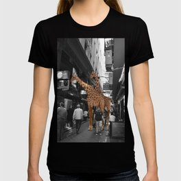 Safary in City. African Invasion. T-shirt