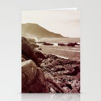 west coast Stationery Cards featuring california west coast by Li-Bro