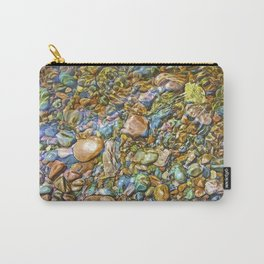 Baptism River Rocks Carry-All Pouch