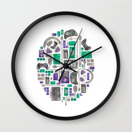 Gamer/Computer Nerd Wall Clock