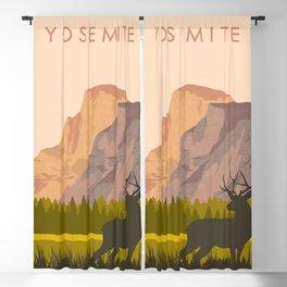 Yosemite Park Blackout Curtain