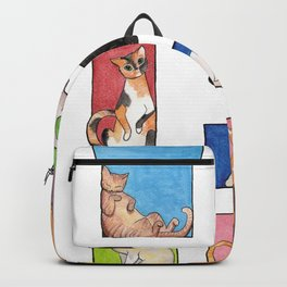 Square Cats Backpack