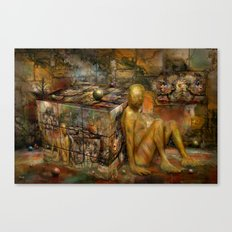 In Wartezustand ! Canvas Print