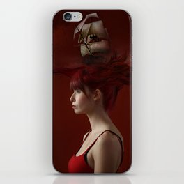Sailing - Red iPhone Skin