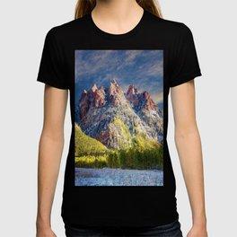First Snow Maroon Bells T-shirt