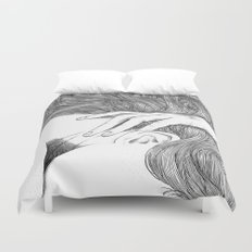 asc 629 - Le geste furtif (Stealth rapture) Duvet Cover