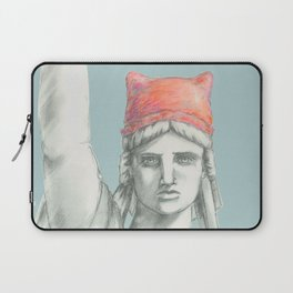Liberty in PINK skyblue Laptop Sleeve