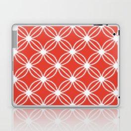 Abstract Circle Dots Red Laptop & iPad Skin