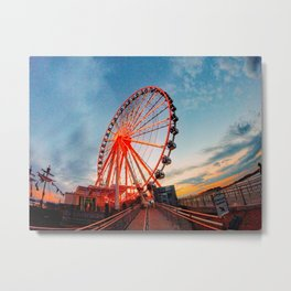 Sunset in Maryland Metal Print