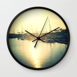 Boats on my side Wall Clock