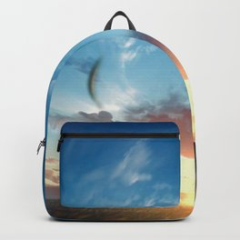 Sky Sunrise Original ArtWork Backpack