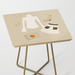 Retro Outfit Side Table