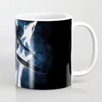returns Mugs featuring Lightning Returns by Six Eyed Monster