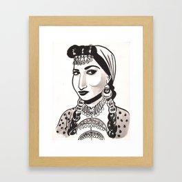 Naima Akef Framed Art Print