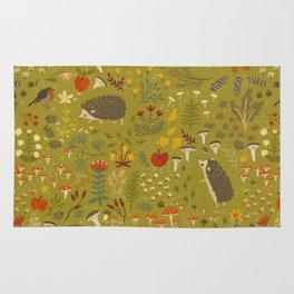 Hedgehog Meadow Rug