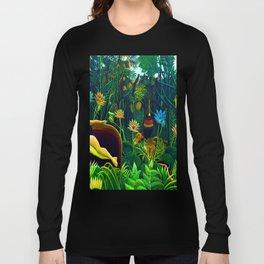 Henri Rousseau The Dream Long Sleeve T-shirt