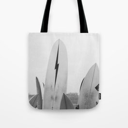 Surf Boards Tote Bag