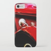ford iPhone & iPod Cases featuring Ford V8 by Shalisa Photography