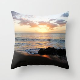 Sunset @ Rincon Throw Pillow