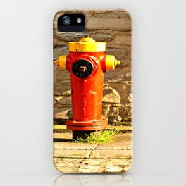 Red Hydrant iPhone Case