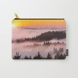 Bolinas Ridge Foggy Sunset Carry-All Pouch