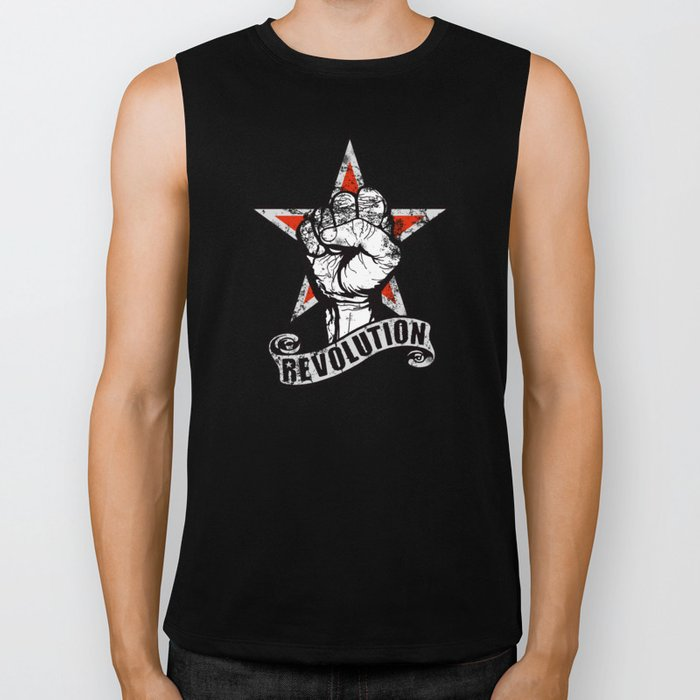 Up The Revolution! Biker Tank