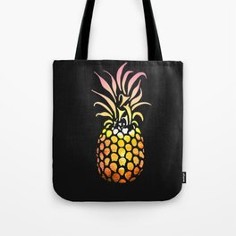 Ocean pineapple Sunset Tote Bag