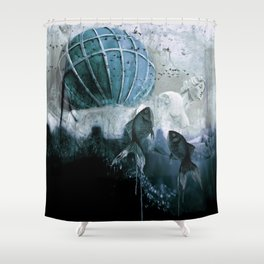 To the light Shower Curtain